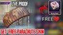 New Vpn Trick [ Get 100% Free Parachute Skin Free] I Pubg Mobile