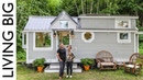 Couple Downsize Into Dream Off The Grid Tiny House