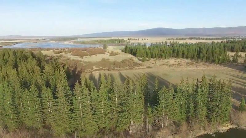 Тункинская долина Аршан с высоты птичьего полета arshan.net.ru