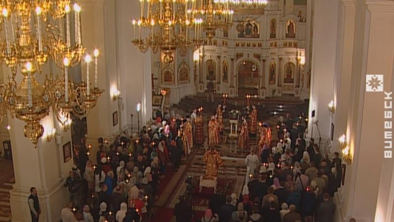 Пасхальное богослужение из Свято-Успенского кафедрального собора (27.04.2019)