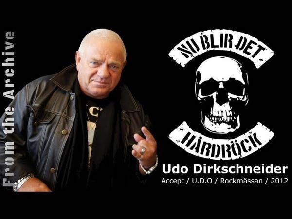 Intervju med Udo i Nu Blir Det Hårdröck
