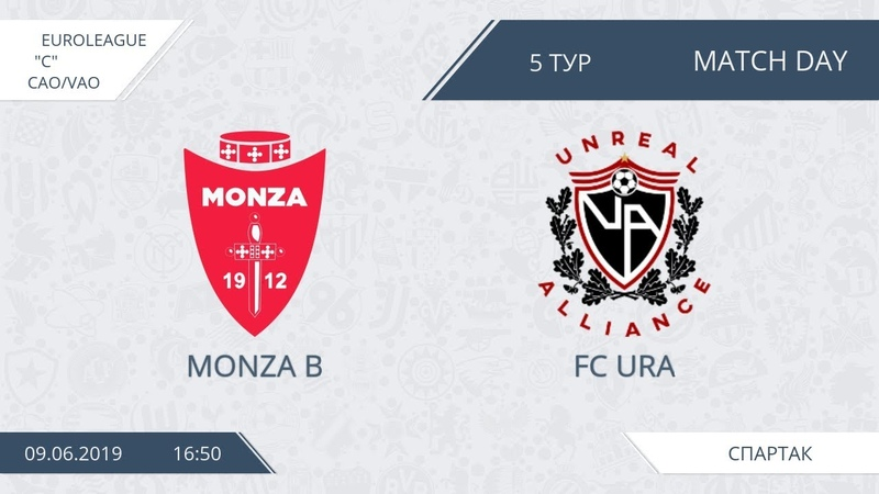 AFL19. Euroleague. Division С. Day 5. Monza B - FC Ura.
