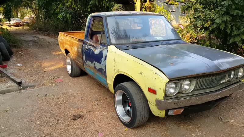 1972 Datsun 620 ฟิตเครื่องฟิตเกียร์ใหม่หมด ของเหลวถ่ายเปลี่ยนใหม่หมดทั้งคัน