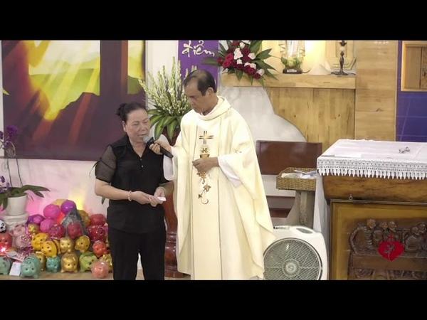1 Cô Bị Tắc Nghẽn Mạch Máu Não Lên Làm Chứng Được Chúa Thương Xót Chữa Lành Và Hoán Cải Tâm Hồn Cô