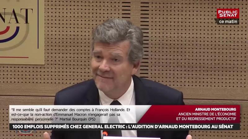 L'UE ne nous protège pas, elle nous met à nu Montebourg