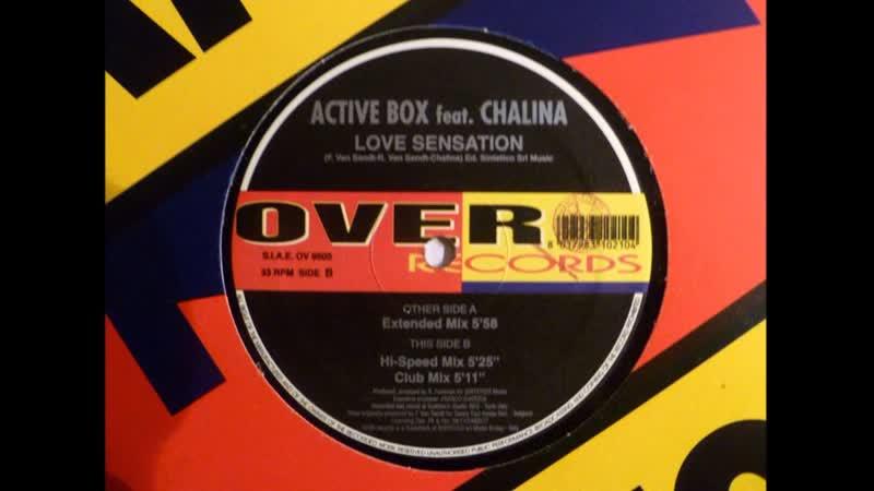 Active Box feat. Chalina - Love Sensation (Club Mix 1997)
