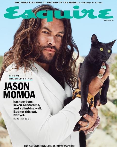 Красавец-мужчина Джейсон Момоа для нового номера Esquire Совсем скоро будет доступен сериал «Видеть» с его участием от