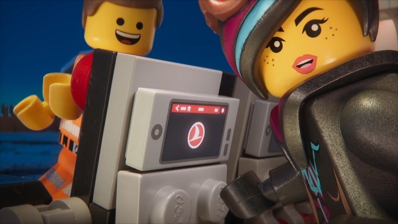 Safety Video with The LEGO Movie 2 Characters - Turkish Airlines