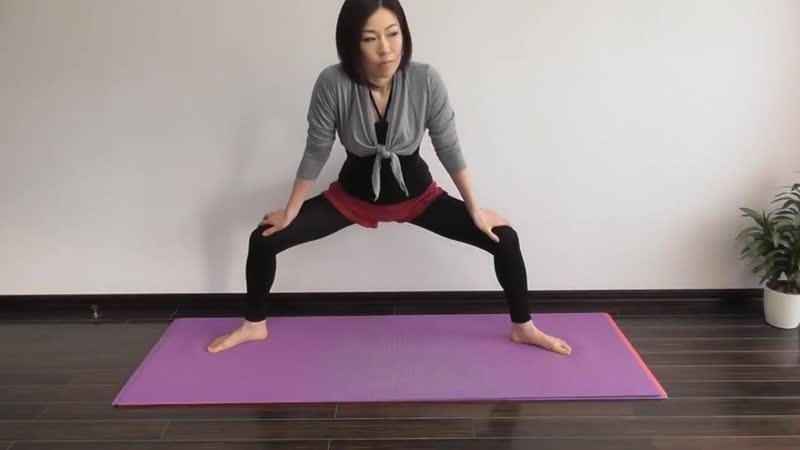 Упражнение для укрепления мышц талии и поясницы