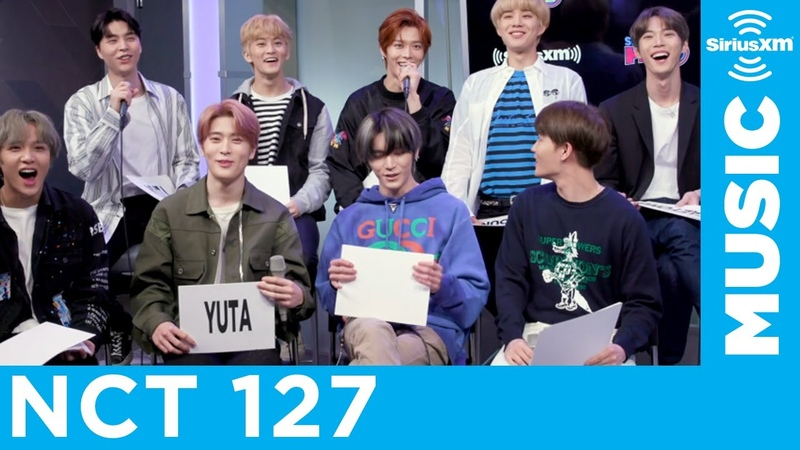NCT 127 Plays the Most Likely To... Game at SiriusXM Studios