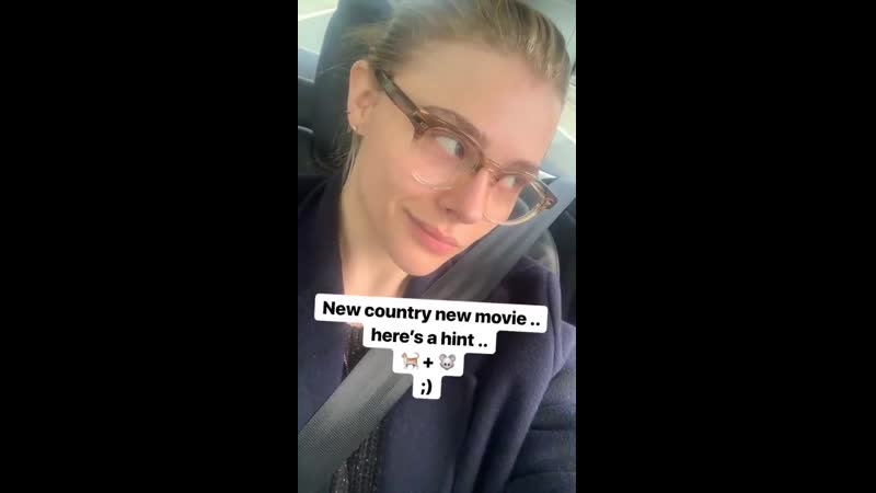 From chloegmoretz's Instagram Story (June 23, 2019)