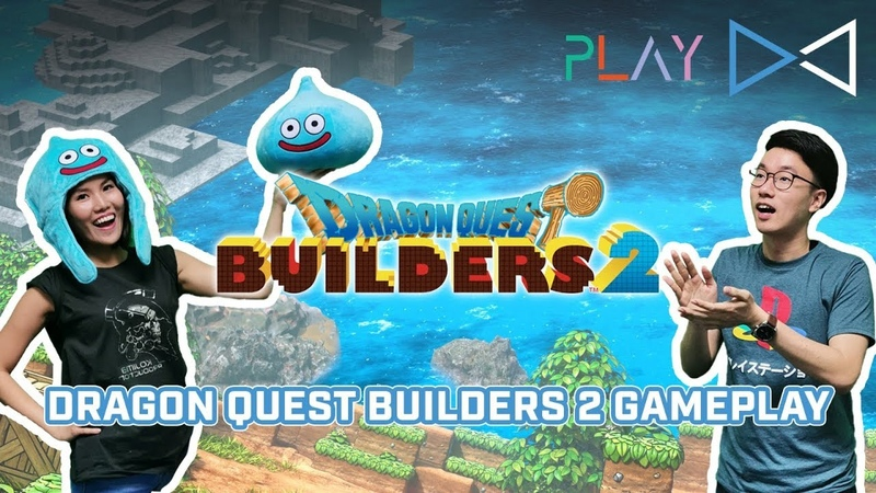 NS\PS4 - Dragon Quest Builders 2