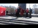 Митинг 1 Мая на пл. Ленина 4 часть. Резолюция