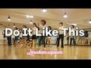 Do It Like This Line Dance Beginner Jonno Liberman Demo Count