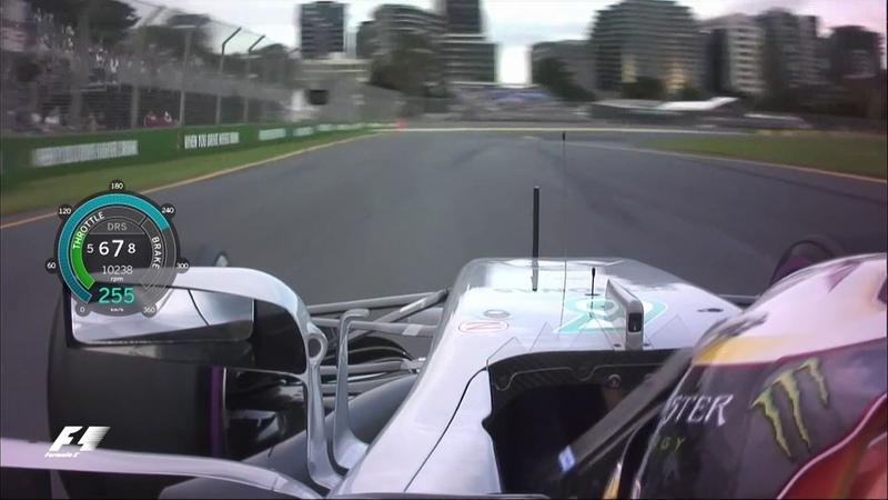 2017 Australian Grand Prix: Lewis Hamilton Onboard Pole Lap
