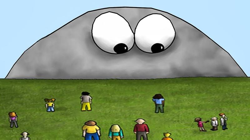 История ГЛАЗАСТИКА 6. ЛИЗУН хочет съесть планету Земля. Игра Tasty Planet на Игрули TV