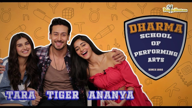 Tara Sutaria, Tiger Shroff and Ananya Panday talk about ex-dharma students    Student of the Year 2