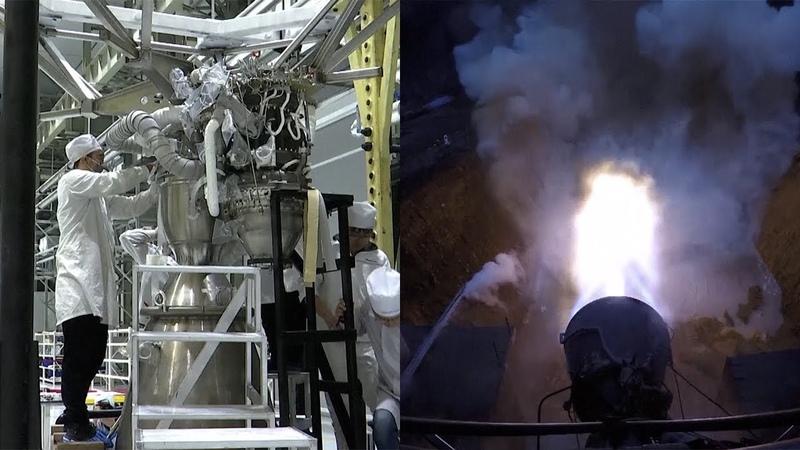 LandSpace TQ-12 rocket engine tests