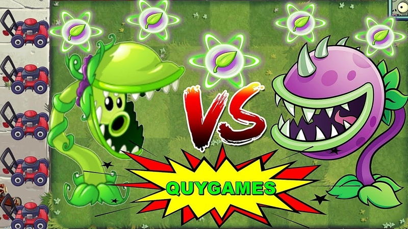 Plants vs. Zombies 2 Snap Pea Pvz2 Vs Chomper Pvz 2 Max Level Power-Up