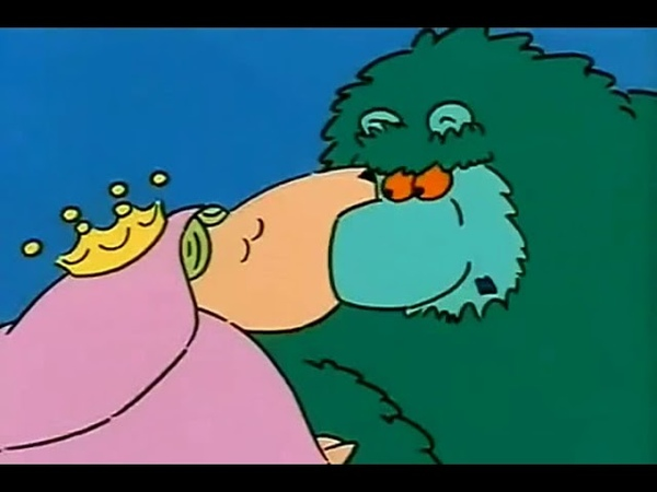 Big Muzzy Биг Мази 6 серия Мультфильм с субтитрами на английском языке