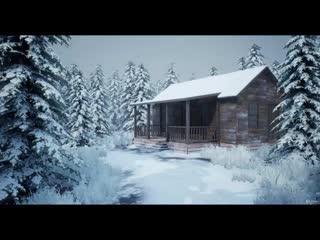 Создание реалистичного снежного игрового окружения