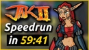 WR Jak II Any HD Collection Speedrun in 59 41