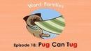 Word Families 18 Pug Can Tug