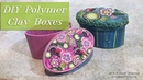 DIY Polymer Clay Boxes Class Preview