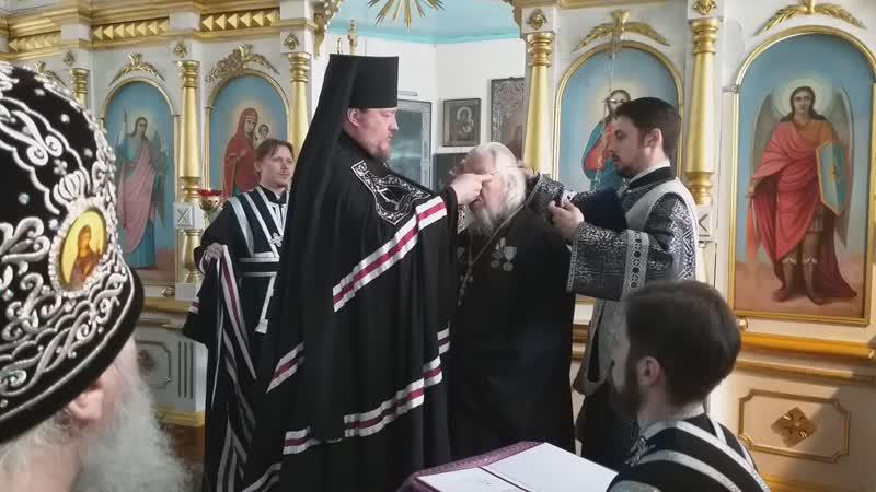 Награждение протоиерея Анатолия Кривоногова