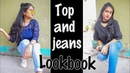 Top and Jeans outfit Ideas | Lookbook