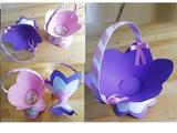 Пасхальная вазочка (корзиночка) из бумаги своими руками. Подарки и поделки для детей