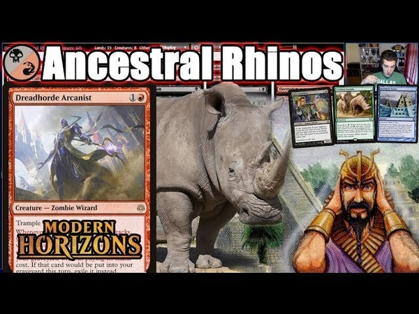 Dreadhorde Arcanist Brings About Visions Of The Past And Huge Rhinos
