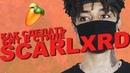 Как сделать бит в стиле SCARLXRD в FL Studio