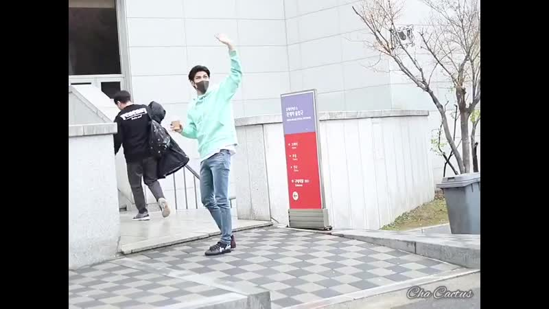 [Fancam] 190414 VIXX Leo on the way to Musical 'Elisabeth' in Seongnam