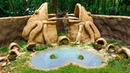 Build The Most Beautiful Frog Pond Around Clay Frog Sculptures