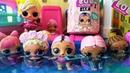 КУКЛЫ ЛОЛ СЮРПРИЗ МУЛЬТИКИ УТОПИЛА ТЕЛЕФОН в бассейне куклы меняют цвет с питомцами lol