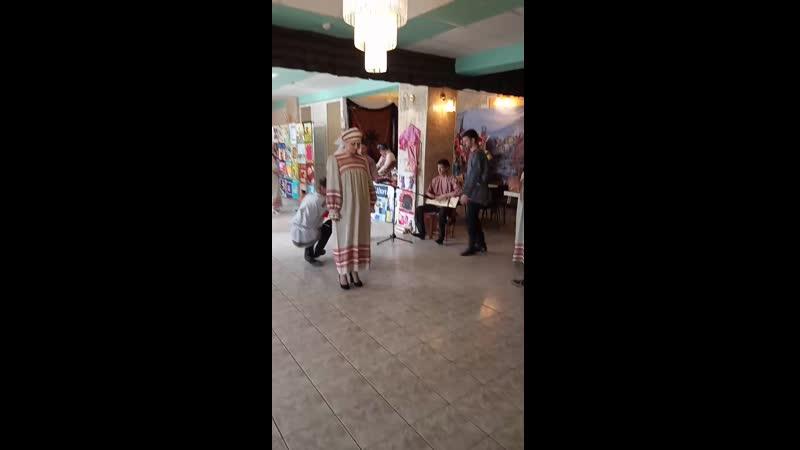 встреча гостей в Кулаковском ДК