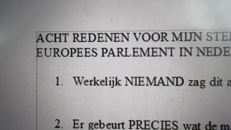 Mega-fraude bij verkiezingen EP: 8 bewijzen