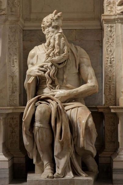 """Моисей"" Микеланджело. Рим."