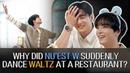 NU'EST W Dancing Waltz At A Restaurant? [Suspicious Restaurant] ENG SUB • dingo kdrama