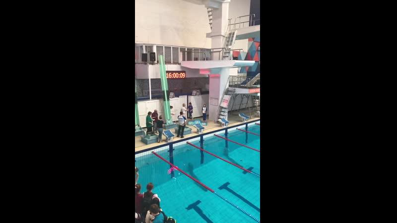 Региональный турнир Челябинск девочки 2009 100 м на спине Саша 2 место 1 28 36 подтвердила 3 взрослый 14 04 19