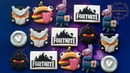 FORTNITE Cookies PART 1 ~ How to make Durr Burger/Beef Boss, Black Knight, Omega Fortnite LOGO!