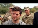 Зеленский на презентации в Киеве грубо оттолкнул министра обороны Полторака