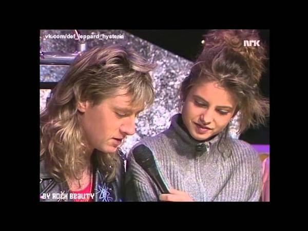 NRK TV Blikkbåx 12.03.1988 Def Leppard - Hysteria
