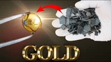 How to make gold recovery from IC chips that is separated from the old circuit board