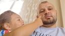 Babasına Yanağın Fıstık Gibi Öpesim geldi Diyen Küçük Kız