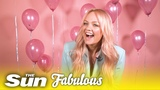 Spice Girls' Emma Bunton plays Popping The Question Fabulous Magazine