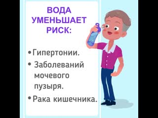 Вот что будет с вашим организмом, если пить только воду