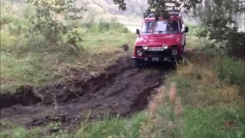 Off-road - 34 Нарезки с телефонов 1ч. [НИВА, Terrano, УАЗ-469, L200, ГАЗ-66]
