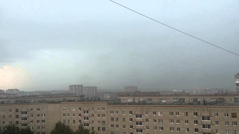 Гроза в Ижевске 05.07.2014